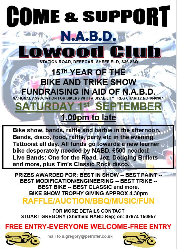 Lowood Fundraiser Poster