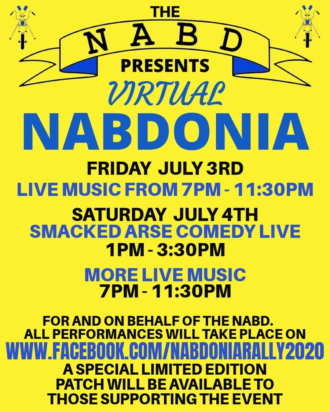 Virtual Nabdonia Event List